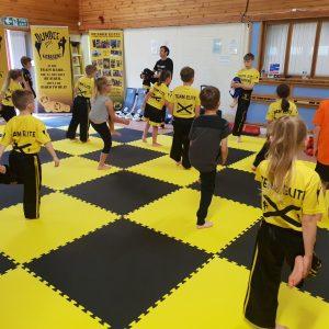 dundee elite kickboxing kids 5 - 7