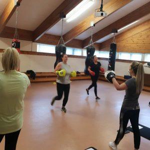 dundee elite kickboxing ladies 2